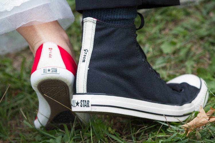 Fun Cool Wedding Shoes Photo Converse All Star