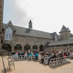 Northern Michigan castle wedding venue photo