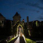 butterfly garden castle farms night photo