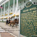 mackinac island wedding at grand hotel photo