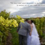 northern michigan winery vineyard wedding photo