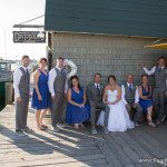 fishtown wedding photo leland, michigan