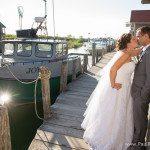 leland michigan fishtown wedding photo