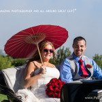 wedding carriage vendor mackinac island photo