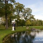 wedding on mackinac island stonecliffe golf photo