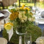photo northern michigan wedding yellow flower photo