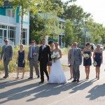destination wedding venue lake michigan photo
