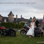 harley davidson wedding northern michigan photo