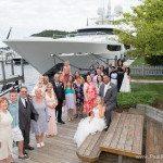 yacht wedding photo frankfort michigan