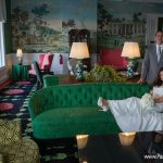 wedding photo mackinac island grand hotel