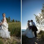 lake michigan beach wedding sand outdoor photo st. joseph mi