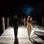 beautiful off camera light michigan wedding photo
