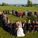 mackinac island heart love group wedding photo