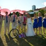 mission point resort mackinac island bridal party photo