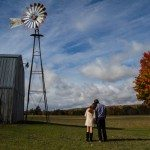 wedding engagement barn farm outdoor petoskey photo
