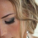 photo eyelash wedding makeup