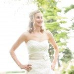beautiful bride northern michigan photo