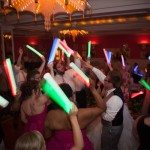 dance wedding party grand hotel glow stick photo