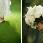 wedding bouquet shoe elegant chic couture luxury photo