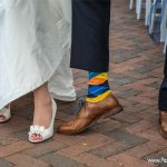 sock detail wedding photo idea
