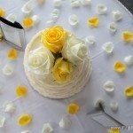 wedding cake northern michigan photo