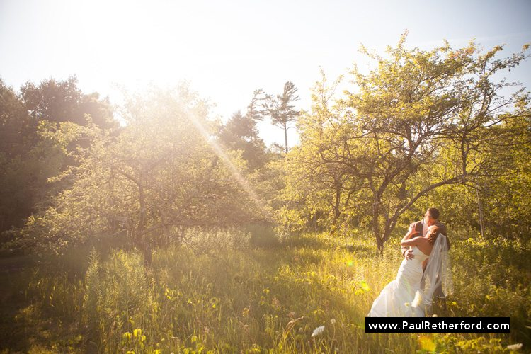 northern michigan mackinac island elegant rustic nature wedding photo