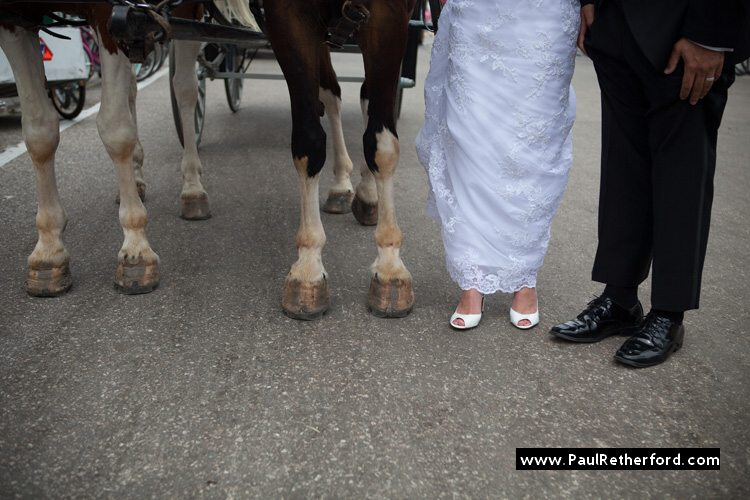 wedding shoe shot mackinac island horse shoe photo