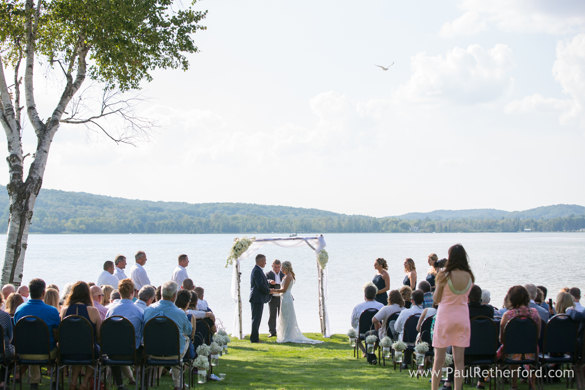 Boyne Mountain Beach House Wedding