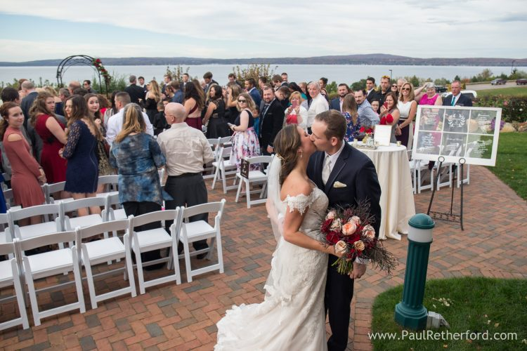 Northern Michigan Outdoor Wedding Venue Photo Petoskey
